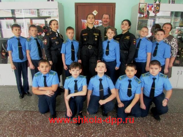 Юные спасатели из Лобаново